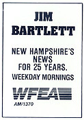 1987 WFEA ad for Jim Bartlett